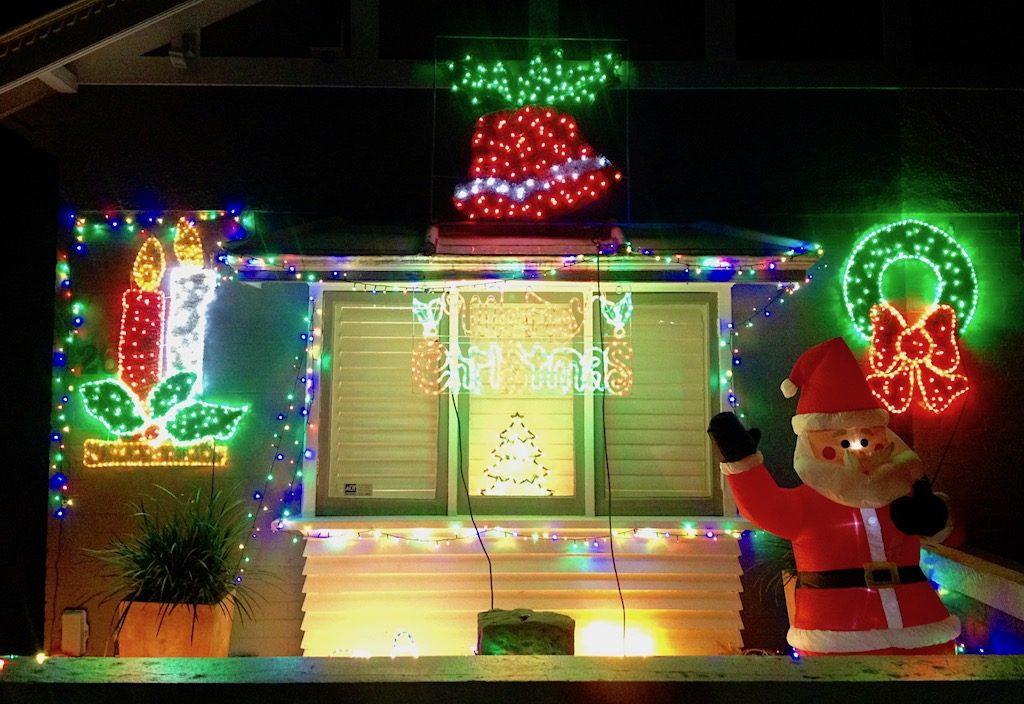 Christmas lights in Australia