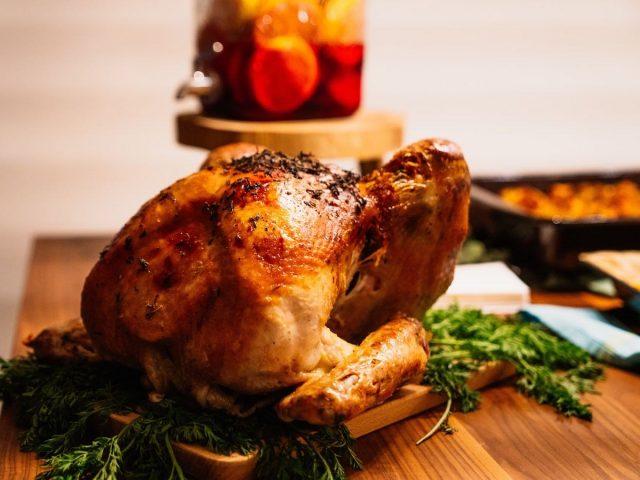 Christmas roast dinner