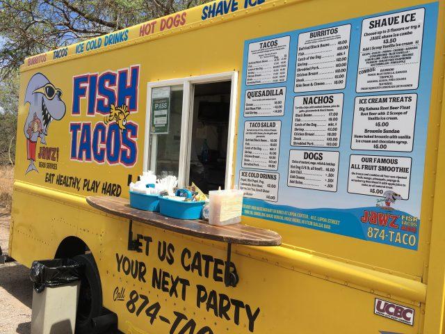 Jawz Fish Taco Van, Mauai