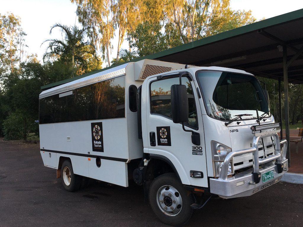 Spirit of Kakadu 4WD Bus