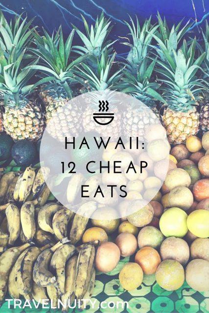 Cheap Eats in Hawaii