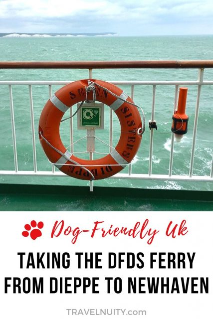 DFDS Ferry to Newhaven with a Dog