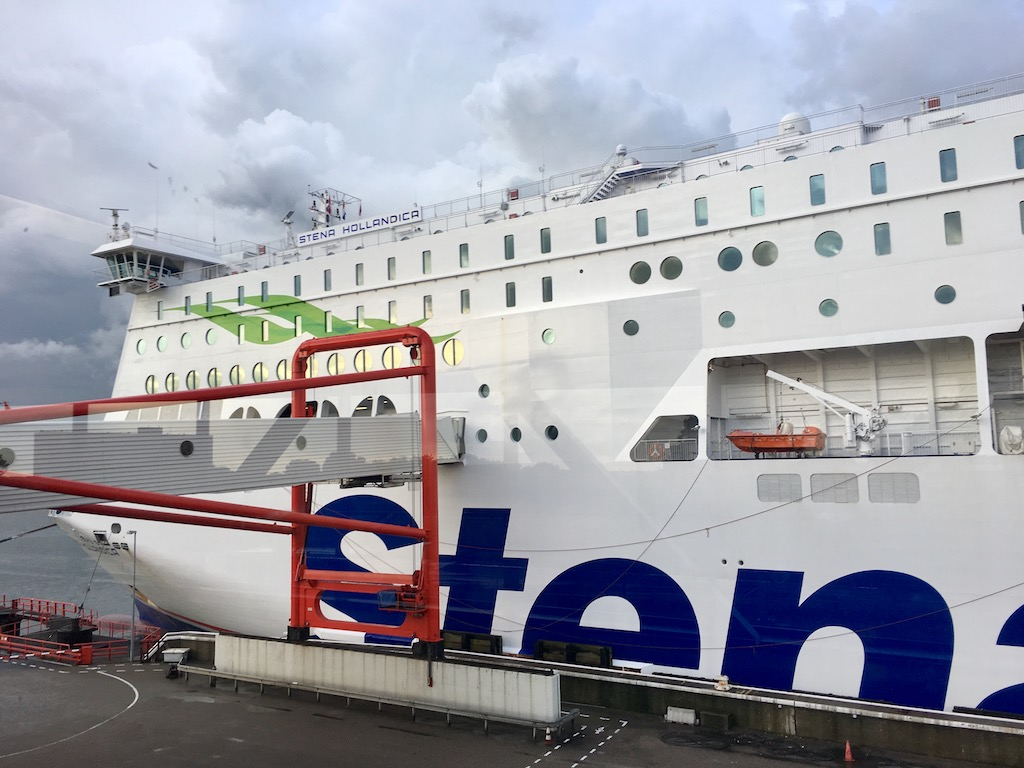 Stena Line Ferry from Harwich to Hook of Holland with a dog