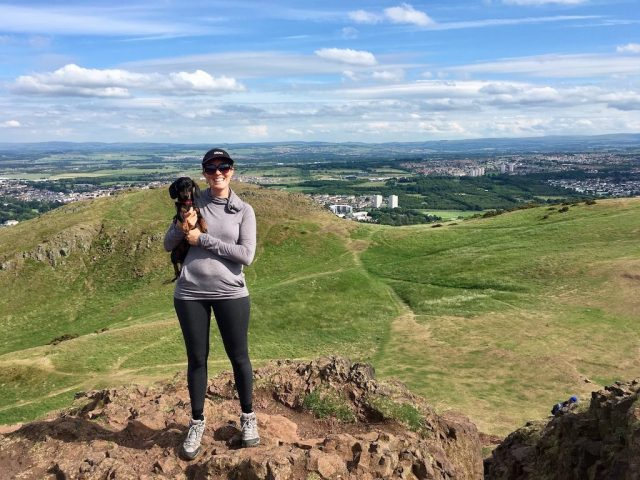 Hike Arthurs Seat with a Dog