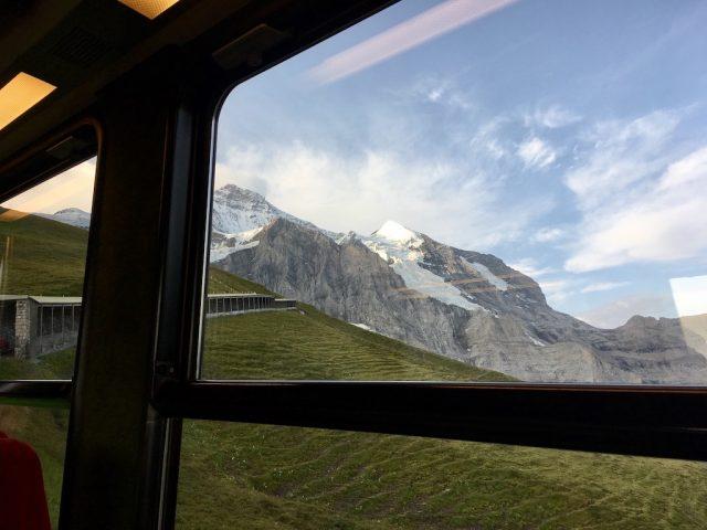 On the Jungrau Railway