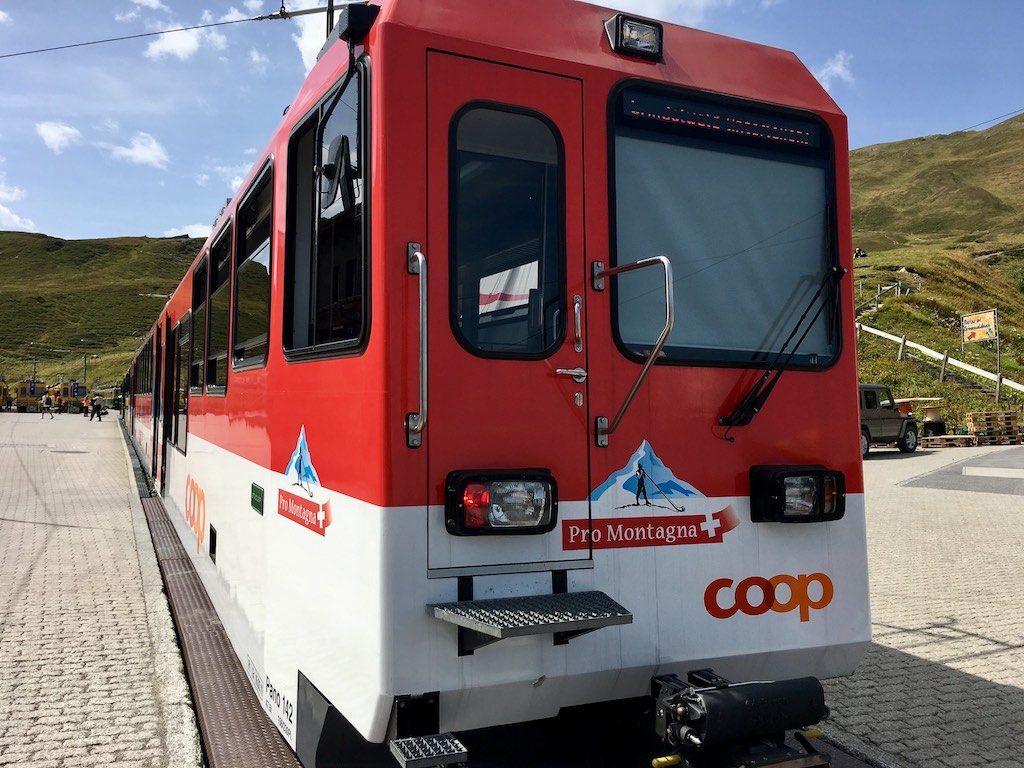 Railway to Kleine Schiedegg