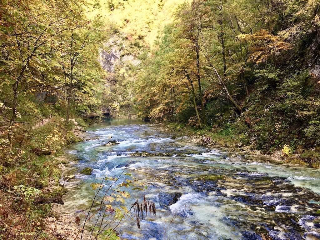 Things to do Lake Bled Fall: Vintgar Gorge