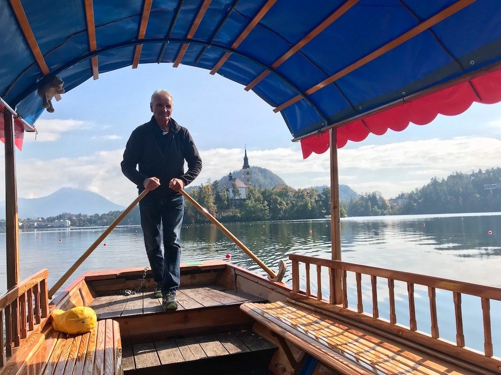 Things to do in Lake Bled: Pletna on Lake Bled