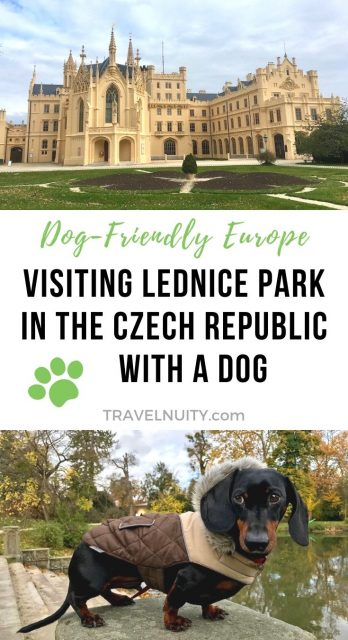 Visiting Lednice Park with a Dog