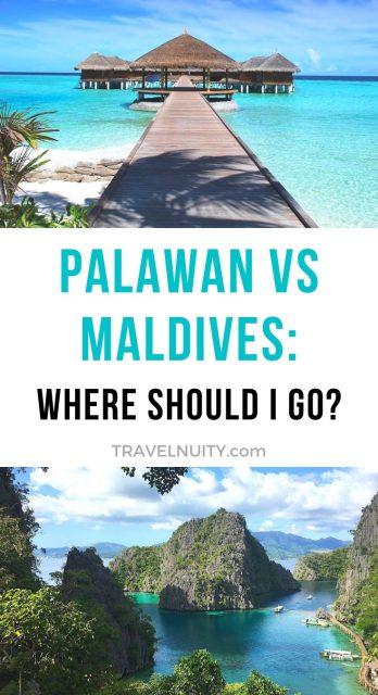Palawan vs Maldives