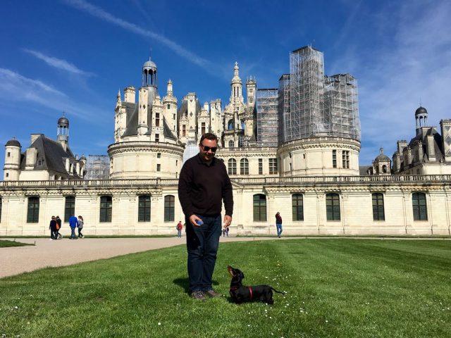 Dog-friendly chateau in France