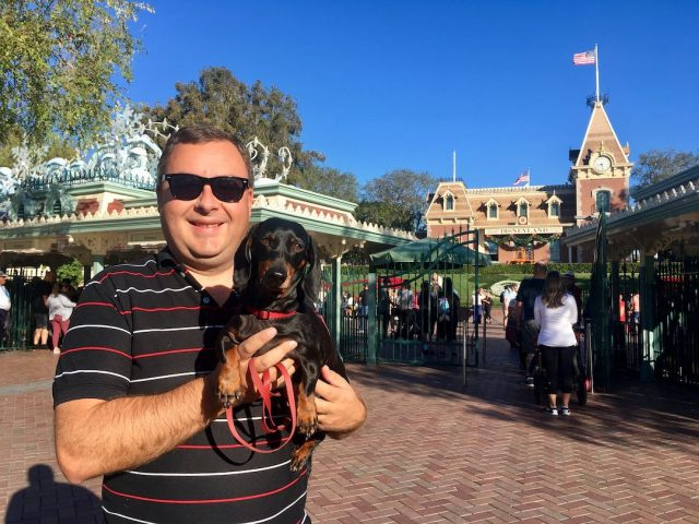 Disneyland with a dog