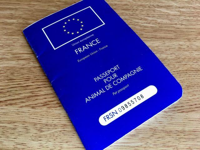 French pet passport