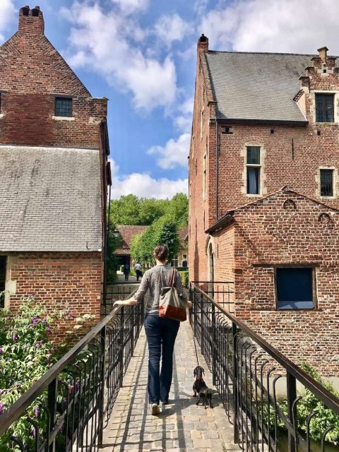 sightseeing in Belgium with a dog