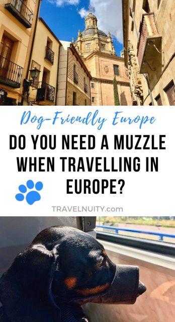 Dog Muzzle for Travel