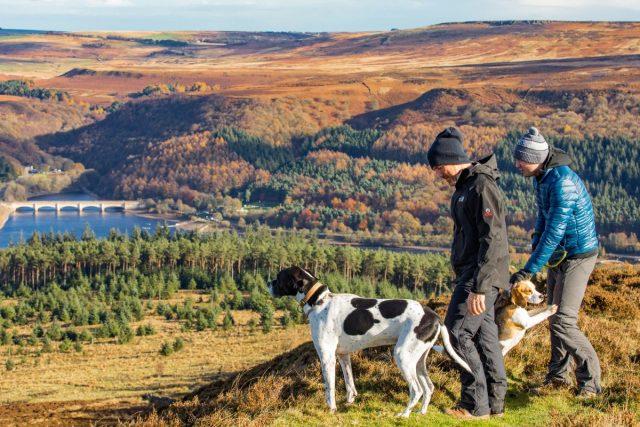 Dog-friendly Peak District national park