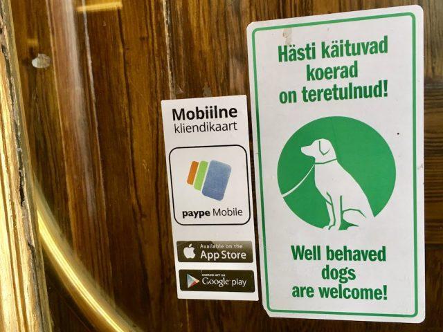 Dog-friendly restaurants in Tallinn