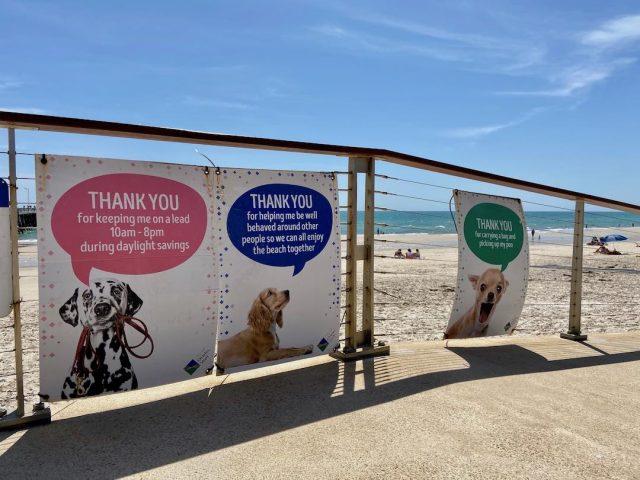 Dog-friendly beaches Adelaide