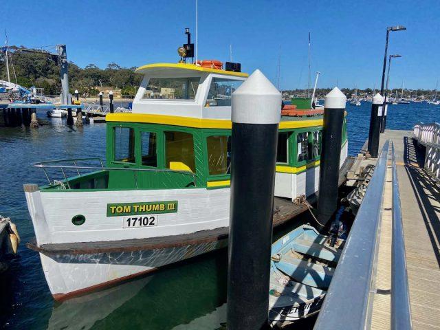 Ferry from Cronulla to Bundeena