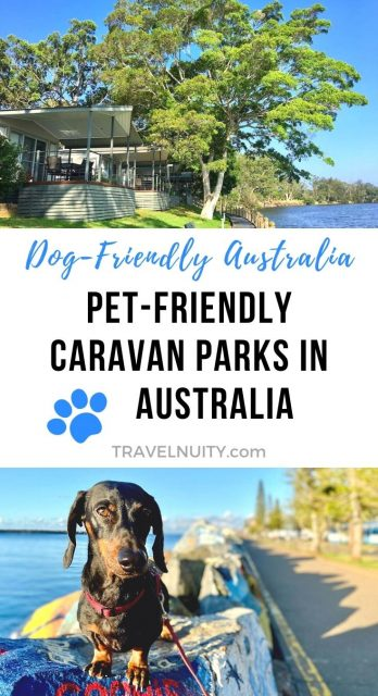 Pin - Pet-friendly caravan parks in Australia